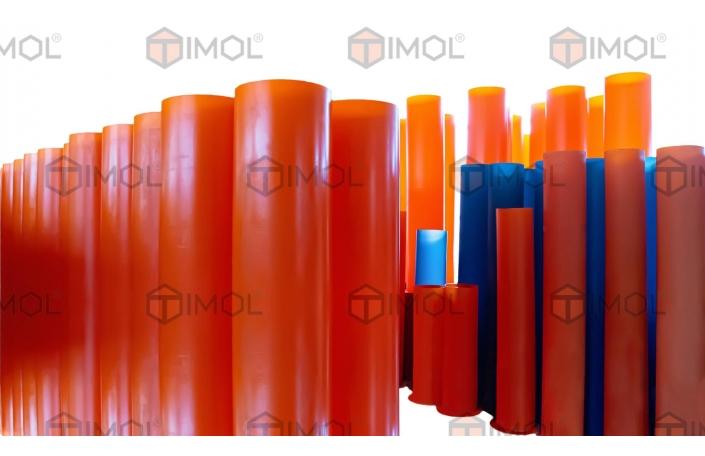 Самоплинне обладнання: поліуретанові вкладки в труби