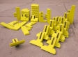 Полиуретановые скребки для бетоносмесителей